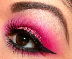 Pink Valentine's Day Inspired by Aranza S. Click the pick to see the products she used. #makeup #beauty #valentinesday