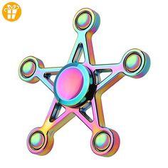 Saingace Hand Spinner Fidget Kupfer Ball Schreibtisch Fokus Spielzeug EDC Für Kinder / Erwachsene - Fidget spinner (*Partner-Link)