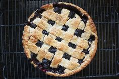 Cranberry Blueberry Pie from completelydelicious.com