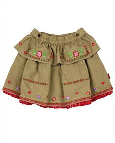Oilily Girl's Poplin Silke Skirt: Clothing - #junkydotcom kids