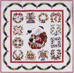 Amazon.com: P3 Designs Baltimore Christmas BOM Block of Month Patterns Set: Pearl P. Pereira: Arts, Crafts & Sewing