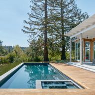 Cedar Clad Home In Silicon Valley Enables Californian Outdoor Lifestyle.  Silicon Valley CaliforniaOutdoor Living SpacesNorthern ...