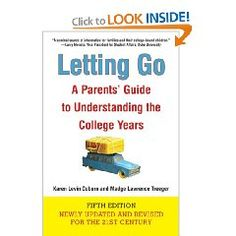 For more than a decade Letting Go has provided hundreds of thousands of parents with valuable insights, information, comfort, and guidance throughout the emotional and social changes of their children's college years—from the senior year in high school through college graduation.