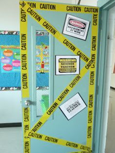science door! Totally doing this :)