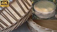 Newspaper Basket, Newspaper Crafts, Old Newspaper, Basket Braid, Basket Weaving, Pine Needle Crafts, Recycled Magazines, Paper Weaving, Rolled Paper