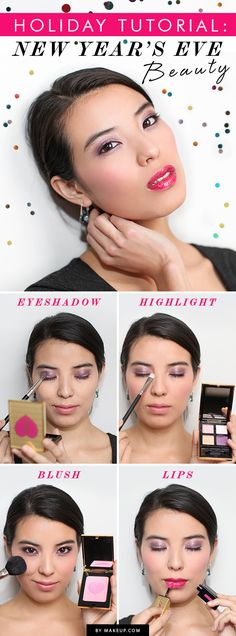 New Year's Eve is upon us, and we know you're running around trying to ginf the perfect NYE dress and heels to party in. We're here to take one of those worries away, and that is what you're going to do with your makeup. This tutorial will have you looking chic and glamorous for this event!