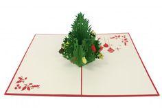 Holiday Christmas Tree Pop-Up Card