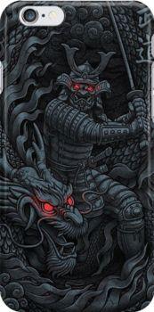 Dragon Samurai Snap Case for iPhone 6 & iPhone 6s