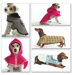Butterick Dog 4885 fit's Dachshund by SewBeeItPatterns on Etsy, $3.00