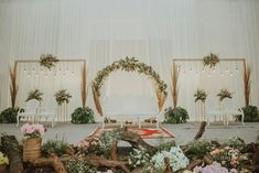 Cheap Wedding Decorations, Bohemian Wedding Decorations, Engagement Decorations, Backdrop Decorations, Decor Wedding, Wedding Ideas, Wedding Backdrop Design, Wedding Stage Design, Wedding Reception Backdrop
