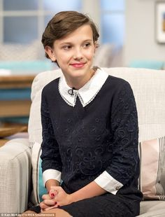 Who could blame her? Stranger Things star Millie Bobby Brown, 12, told Lorraine about her ...