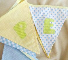 Fabric bunting 4-5