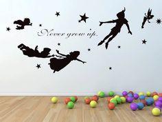 Peter Pan Wall Decal Vinyl Nursery Kids Children Decals Flying Tinkerbell Wendy Stars Home House Baby Room Decor Wall Sticker Kid Mural 915 LKW,http://www.amazon.com/dp/B00HKWWT6Y/ref=cm_sw_r_pi_dp_pdp.sb1AVYKF2HSS