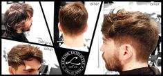 """Makeover made during de training day """"Perruqueria Masculina i Barberia"""" taught by Vicens Moretó @barberbcn  