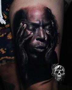 Tatuagem em realismo: encontre tatuadores agora! - Blog Tattoo2me Miles Davis, Portrait, Tattoos, Blog, Artistic Tattoos, Tattoo Studio, Get A Tattoo, Artists, Tatuajes