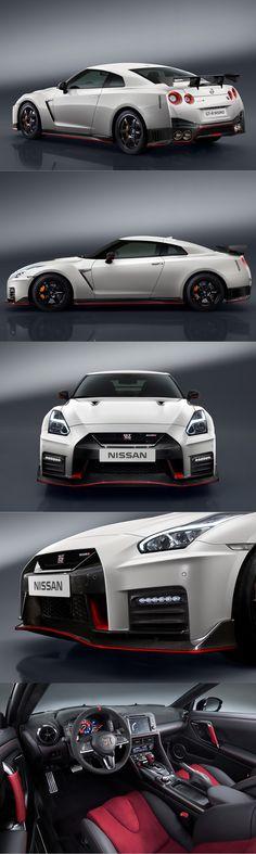 2016 Nissan GT-R Nismo / 600hp 3.8l V6 / Japan / red white / 17-385