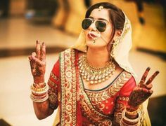 The Indian Bride With Her Swag!