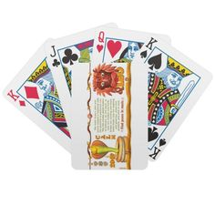 Valxart 1989 2049 EarthSnake zodiac Leo Deck Of Cards playing cards/poker cards