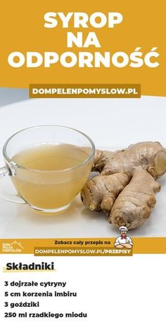 Lemon and ginger syrup to strengthen immunity, Fruit Recipes, Healthy Recipes, Helathy Food, Musaka, Good Food, Yummy Food, Health Eating, Easy Snacks, Fruit Smoothies