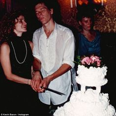 Throwback: Kevin Bacon shared a sweet photograph alongside wife Kyra Sedgwick on…