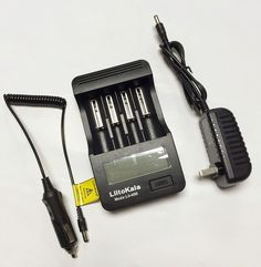 New Liitokala lii-400 LCD Charger 18650 3.7V lithium battery NiMH AA / AAA1.2V Battery Charger + 12V 2A adapter