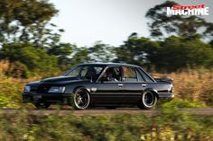 Serial offender Louis Younis builds a boosted, murdered-out VK Brocky replica with a pro street twist Australian Muscle Cars, Aussie Muscle Cars, Classic Auto, Classic Cars, Holden Boy, Holden Maloo, Holden Muscle Cars, Turbo Car, Holden Commodore