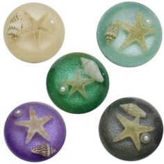 2pcs 25mm Resin filling natural Starfish Shell Pearl Round Cabochon&Dome Cover Pendant Cameo Settings,Diy Accessories