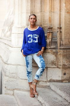 Isabel Marant wearing Isabel Marant - the coolest chic going 'round