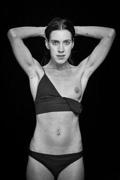 Denisa - shared with pixbuf.com #portrait #girl #nude #bw #leica