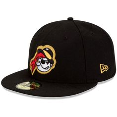 West Virginia Power Authentic Home Fitted Cap - Pittsburgh MiLB