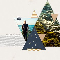 Template: Love Triangles No 2 - Designed by Soco