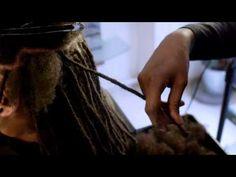 Pose de Locks Homme, Coiffure Locks Homme - Locks Twists Tresses Salon - YouTube