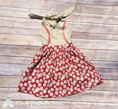 The Vintage Verry Cherry Dress - Open Back dress sewing pattern