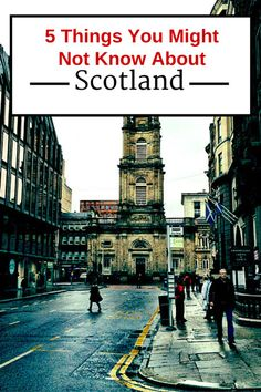 5 things to know about Scotland - Europe travel tips!