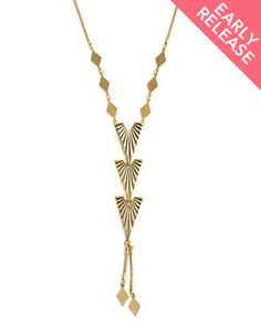 The To The Point Necklace by JewelMint.com, $29.99