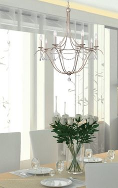 Buy the Crystorama Lighting Group Antique Silver Direct. Shop for the Crystorama Lighting Group Antique Silver Metro 8 Light Wide Beaded Chandelier and save. Silver Chandelier, Chandelier Lighting, Crystal Chandeliers, Light In, Dining Room Lighting, Clear Glass, Antique Silver, Ceiling Lights, Contemporary