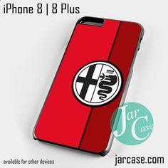 Red Alfa Romeo Logo Phone case for iPhone 8 | 8 Plus