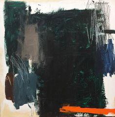 Orange Line Down by David Sharpe