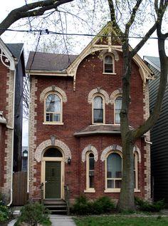 Toronto bachelor home facade