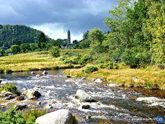 Séjour linguistique en Irlande avec le CEI  #Irlande #Ireland #Europe #CEI #voyage #travel #colonie #sejourlinguistique #holiday #nature #river #green #view #landscape #zen