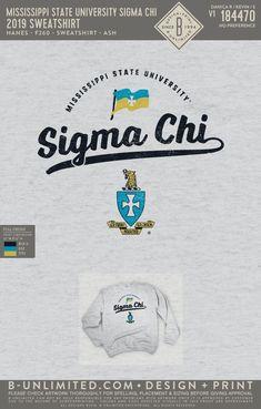 Sigma Chi Crest Sweatshirt PR | Fraternity Event | Greek Event #sigmachi #machi #sx Sigma Chi, University Of Mississippi, Fraternity, All Design, Greek, Sweatshirts, Trainers, Sweatshirt, Greece