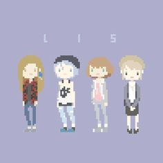 Life is Strange pixel art // catamariii.tumblr.com