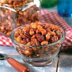Try this easy to prepare snack! Make Orange Spiced Mixed Nuts using Smucker's® Sweet Orange Marmalade, paprika, ground cumin, mixed nuts and brown sugar. Nut Recipes, Vegetarian Recipes, Snack Recipes, Cooking Recipes, Healthy Recipes, Candy Recipes, Fall Recipes, Healthy Foods, Yummy Recipes