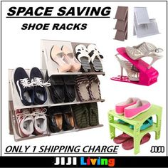 [$1.90](▽91%)☆Space Saving Shoe Racks/Cabinets ☆