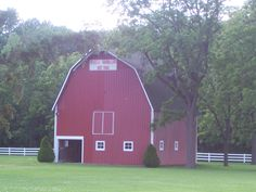 A barn in Indiana