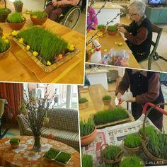 Puutarhakautta harjoiteltu pääsiäistunnelmissa