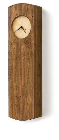 Free Plan: Shaker Wall Clock - Fine Woodworking