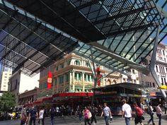 Street Mall, Street View, Four Square, Times Square, Sunshine State, Brisbane, Australia, Queen, Travel