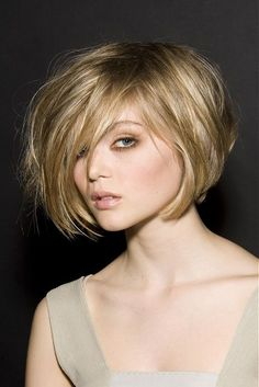 Choppy Bob Cut -- I like this, but I don't think I'm brave enough to make the jump