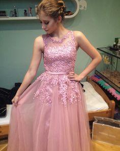 dark pink Bridal Dresses, Prom Dresses, Formal Dresses, Cheap Evening Dresses, Beaded Lace, Pink Lace, Banquet, Wedding Events, Dark